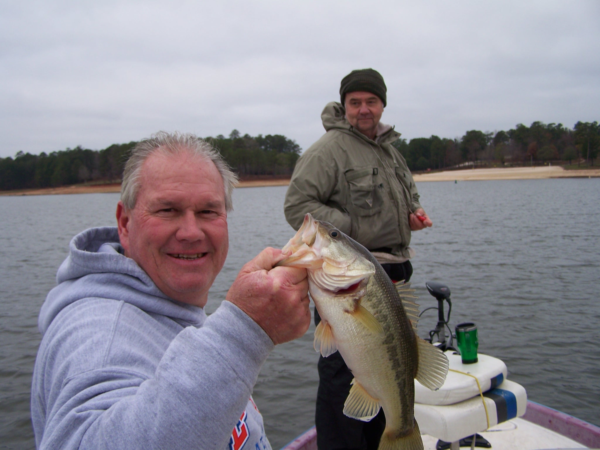 Any day is great to fish on west point lake retreat on for West point lake fishing