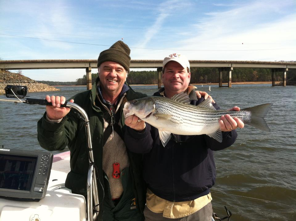 December fishing report from joey mines retreat on west for West point lake fishing report